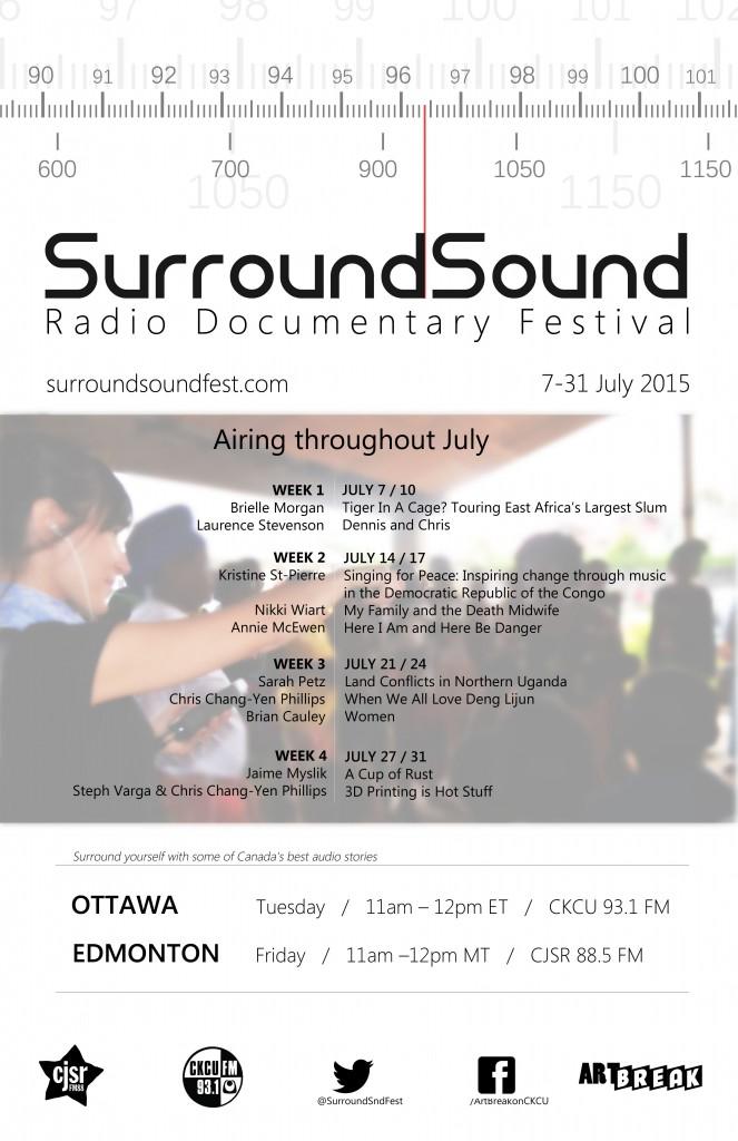 SurroundSoundFest Poster v.1